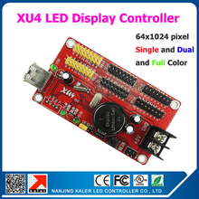 kaler 10pcs easy operation XU4 led display board control card moving message led sign panel asynchronous led controller(China)