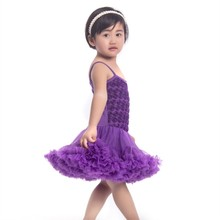 New Design Kids Beautiful Model Petti Tutu Dresses Boutique Little  Baby Girl Rosette Petti Dress