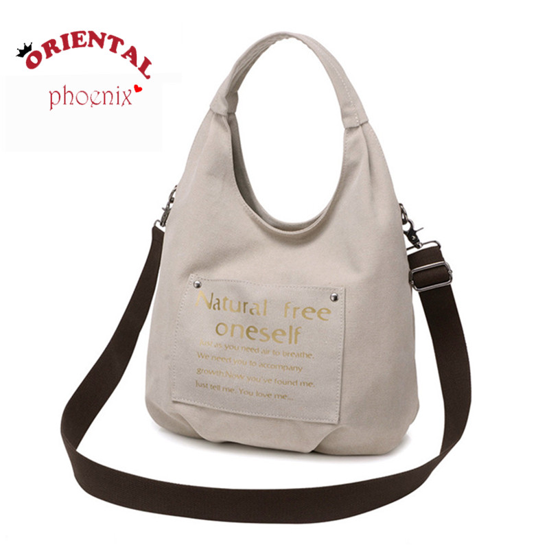 2016 women Water wash canvas handbags one shoulder cross-body bag casual handbag vintage fashion message bags free shipping<br><br>Aliexpress