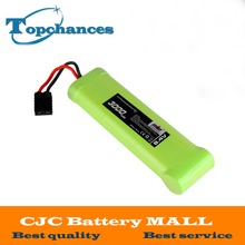 High Quality 8.4V 3000mAh 7 Cell NiMH Battery Flat Pack For Traxxas 1/10 E-Maxx(China)