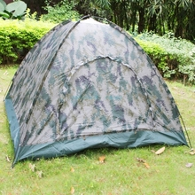 Ship From US Camo Outdoor Camping Tent 4 Person Outdoor Camping Waterproof 4 Seasons Folding Tent Camouflage Hiking Tent89004787