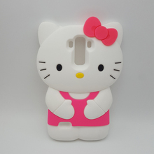Cute 3D Cartoon Hello Kitty Soft Silicone Case For LG G4 Stylus 4G/H630 H635 H540F /G Stylo LS770 Rubber Skin Cover Phone Cases(China)