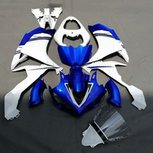 YZF R1 07 08 Motorcycle Fairing Kit For Yamaha YZFR1 YZF-R1 2007 2008 Injection Molding Fairings Cowl Set Bodywork White Blue(China)