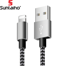 Suntaiho 8 Pin usb for iPhone Cable 2.1A Fast Charging USB Cable Data Cable for iPhone X 8 7 6 5 s Plus for iPad Pro Air