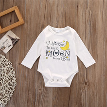 Original Brand Baby Boys Girls Clothes Bodysuit Infant Jumpsuit Overall Long Sleeve Spring Autumn Clothing Set