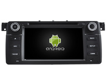 Android 7.1 CAR DVD player FOR BMW E46 1998-2006 car audio gps stereo head unit Multimedia navigation SWC BT