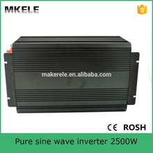 MKP2500-241B pure sine wave 2500watt big power inverter 24vdc to 115vac off grid type for home use