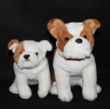 Big Stuffed Animals  Plush Toy Bulldog  Doll  Children'S Toys Simulation dogs Gifts