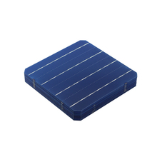 Wholesale 1000pcs 4.7W high efficiency 156 Mono monocrystalline Solar Cell 6x6 for DIY PV Solar Panels