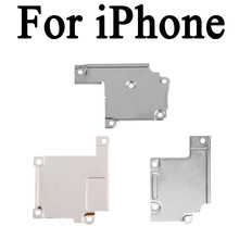 10pcs New For iphone 5G 5S 5C SE 6G 6 6S Plus 7 7 Plus WiFi Antenna LCD Flex Cable Spacer Clip Holder Metal Plate Bracket Cover