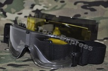 MILITECH ANSI Rated&Certified Ballistic Glasses UX800 Style Tactical Goggles Anti Frag Bulletproof Goggles Against UV400(China)