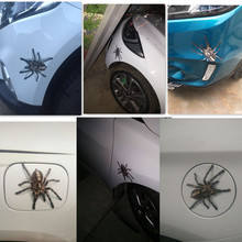 3D Car Sticker spider Bumper Retrofit Stickers vw passat b6 audi a4 honda crf 450 2016 subaru b4 toyota corolla 2017 bmw e90