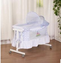 baby multifunctional bed, folding newborn, portable cradle bed, travel bed, sleeping artifact,