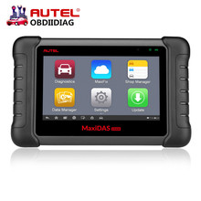 Original Autel MaxiDAS DS808 Scanner Update Online Autel DS708 ECU Diagnostic Tool  Same Function As MS906 Multi-Language