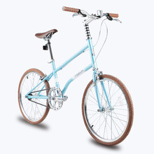 NEW Lightweight Single Speed 20 inch Fashion Leisure Bike Youth Version of The Retro Car(China)