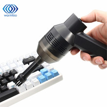 Mini USB Vacuum Cleaner Nozzle Computer Keyboard Brush Dust Collector Hand held Sucker Clean Kit For Cleaning Laptop PC(China)