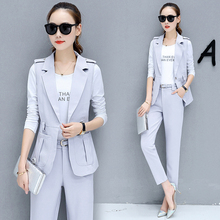Buy woman vest shirt pants autumn outfit lady clothes three-piece suit korean fashion women's clothing set slim clothes size S-XXL for $43.88 in AliExpress store