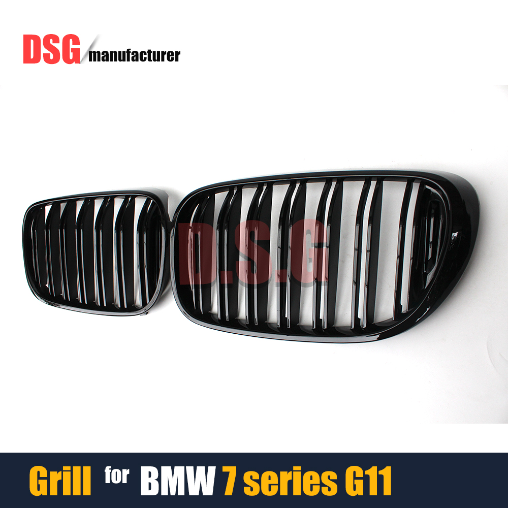 ABS Front Bumper Racing Grills Mesh Kidney Grille For BMW 7 Series 4-Door Saloon G11 G12 2015 - Present 740i 750i 740d<br><br>Aliexpress