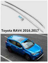 For Toyota RAV4 2016.2017 Auto Roof Racks Luggage Rack High Quality Brand New Aluminium Alloy European style Car Accessorie
