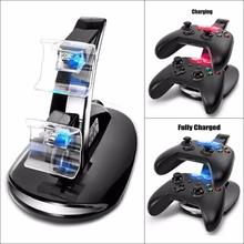 LED Dual Micro USB Dock Station for Microsoft XBox One Controller Wireless Charger Accessori del Gioco(China)