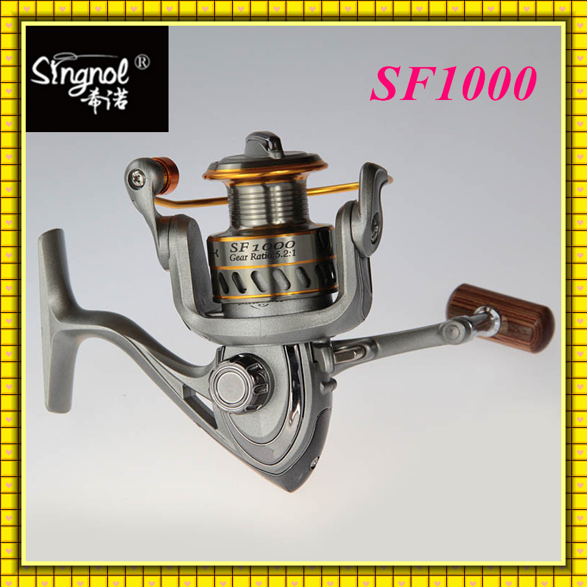 Free shipping 7+1BB Left Right Interchangeable Ice Fishing Spinning Reel SF1000 Fishing Reel manufacturer<br>