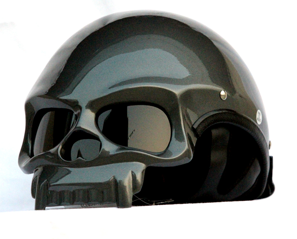 Mary Star children MASEI motorcycle helmet electric car 419 dual skeleton magic around half helmet upgrade ash<br><br>Aliexpress