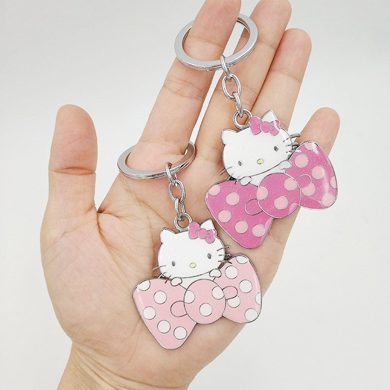 seller adorable gift New Hello Kitty keychain rubber U.S