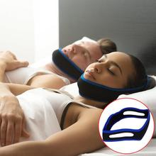 Anti Snore Chin Strap Care Sleep Stop Snoring Belt Chin Jaw Supporter Apnea Belt For Men Women Sleeping Products
