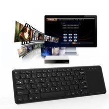 Ultra slim 2.4G Wireless Keyboard With Touch Pad Russian English Language Keyboard For IMAC PC Android Windows 10 Computer