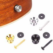Electric Acoustic Guitar Strap Locks Belt Locking Buttons Musical Accessories Color Random(China)