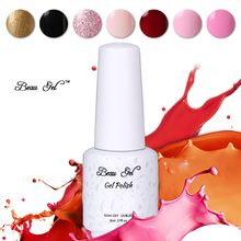 Beau Gel 8ML UV Gel Nail Polish Color Paint Nail Gel Polish Vernis Semi Permanent Soak Off Gel Nail Varnish Gelpolish 58 Colors(China)