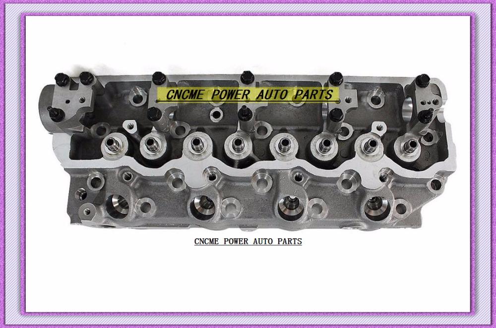 4D56 D4BA D4BAT 4D56T Cylinder Head For Mitsubishi Montero Pajero L300 DELICA Canter For Kia Besta Bongo 2.5L MD185926 908 512 (2)
