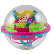 100 Steps Puzzle Ball Educational Magic Intellect Ball Marble Puzzle Game Spin Master Games - Perplexus Rookie Magnetic Balls(China)