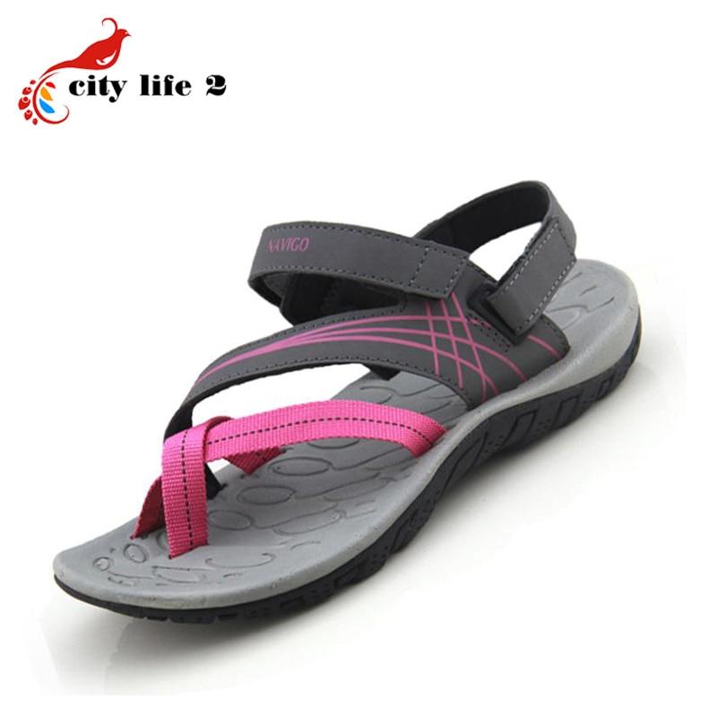 Women Sandals Outdoor Casual Open Toe 2016 New Authentic Vietnamese Sandals Comfortable Flat Sapato Feminino<br><br>Aliexpress