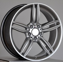 Hyper Silver 18x8.5 5x120 Car Aluminum Alloy Rims fit for BMW 1 3 5 SERIES(China)