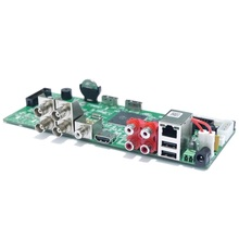 CCTV H.264 Network Video Recorder 4 Channel 5.0MP/4 Channel 1080P AHD,CVI,TVI/CVBS 960H,HDMI,5 in 1 Hybrid DVR BOARD(China)