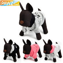 PawzRoad Dog Hoodies Dog Costume Large dog Coat Puppy Apparel Dog Winter Clothes XS-XL 4 Options Big Dog Hoodies