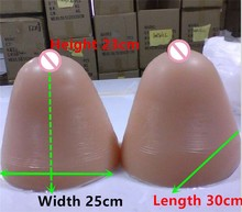 Buy Transgender Super Breast 12KG/pair Huge Realistic Silicone Breast Forms Boobs Crossdresser Drag Queen Artificial Breast