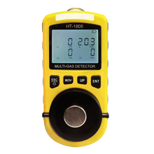 HT-1805 4 in 1 Gas Analyzer Detector Portable O2 CO H2S LEL Tester Toxic And Harmful Gas Concentration Detection