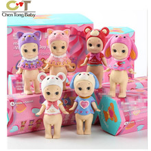 6pcs/box angel mini figure Valentines Day series Doll Decoration with retail box WJ02(China)