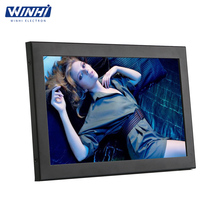 10 inch metal case full hd shelf edge ROHS LCD Monitor with HDMI + VGA + DVI low cost tv advertising tablet 10