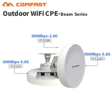 3KM Directional wireless AP Network bridge cpe antenna 802.11 A/b/g/n/an outdoor WiFi station 300-900 Mbps wireless router(China)