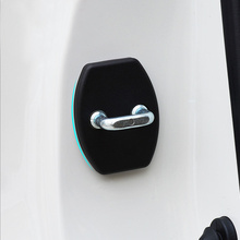 Car Door Lock Cover Fit For TOYOTA REIZ CROWN COROLLA PURUIS YARIS HIGHLANDER RAV4 CRUISER CAMRY 2006-2011 4pcs per set(China)