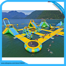 Big Inflatable Water Park Equipment, Giant Inflatable Water Games for Adult, Harrison Inflatable Water Park Manufacturer