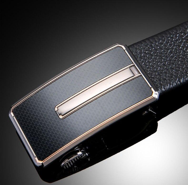 Leather Safes Money Belt Shine Black 110 cm Secure Container Secret