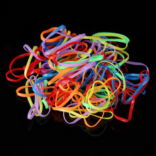 600pcs/1000pcs Colorful Rubber Hair Band Hairstyle Elastic Braids Ponytail Styling Binding Rope for Girl Hair Accessories(China)