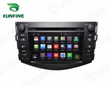Quad Core1024*600 Android 5.1 Car DVD GPS Navigation Player Car Stereo for Toyota RAV4 2006-2012 Bluetooth 3G/Wifi(China)