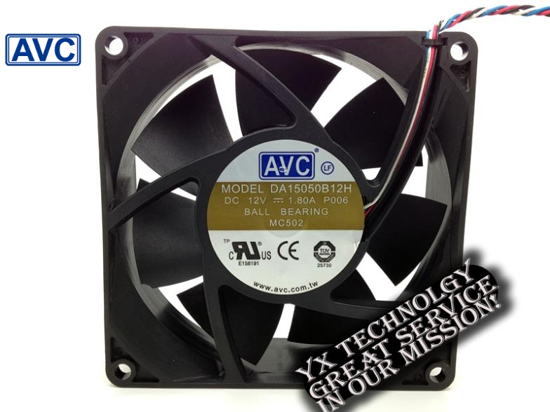 New server fan violence 15cm dual ball bearing fan 1.8A 12v DA15050B12H 150 * 150 * 50mm<br>