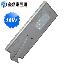 18W  Energy Saving Solar LED Street Light Road Garden Park Light with Sensor Outdoor Integrated LED Light