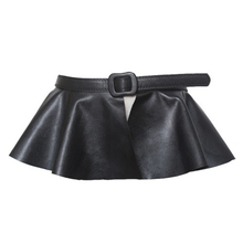 Fashion Black Leather Belt Dress Like lady designer belts ceinture femme bow tie  belt cute women belt